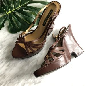 🌿 3 for $20 • Strappy Wedge Block Heel Sandals
